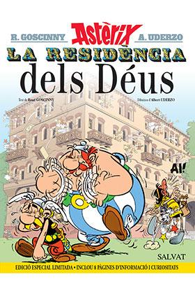 ASTERIX 17: LA RESIDENCIA DELS DEUS (CATALAN) (NUEVA EDICION)