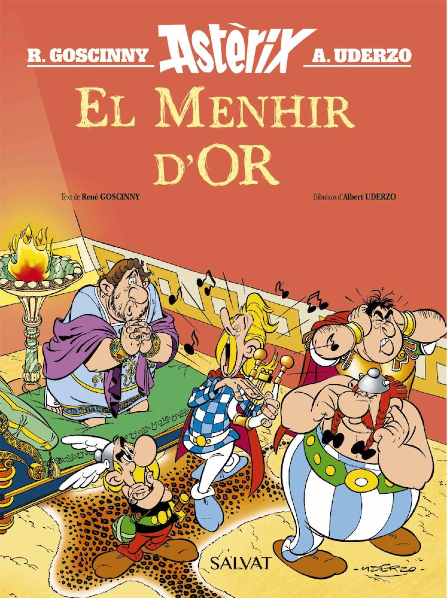 ASTERIX. EL MENHIR D'OR (CATALAN)
