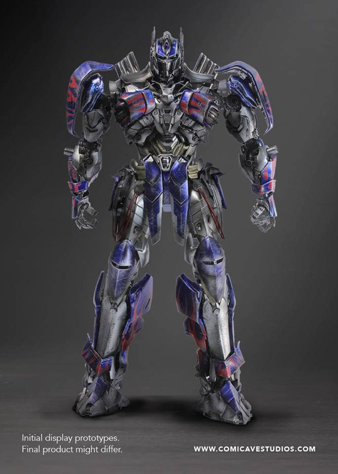 OPTIMUS PRIME FIGURA METAL 39 CM TRANSFORMERS MOVIE 1/22 SCALE COLLECTIBLE