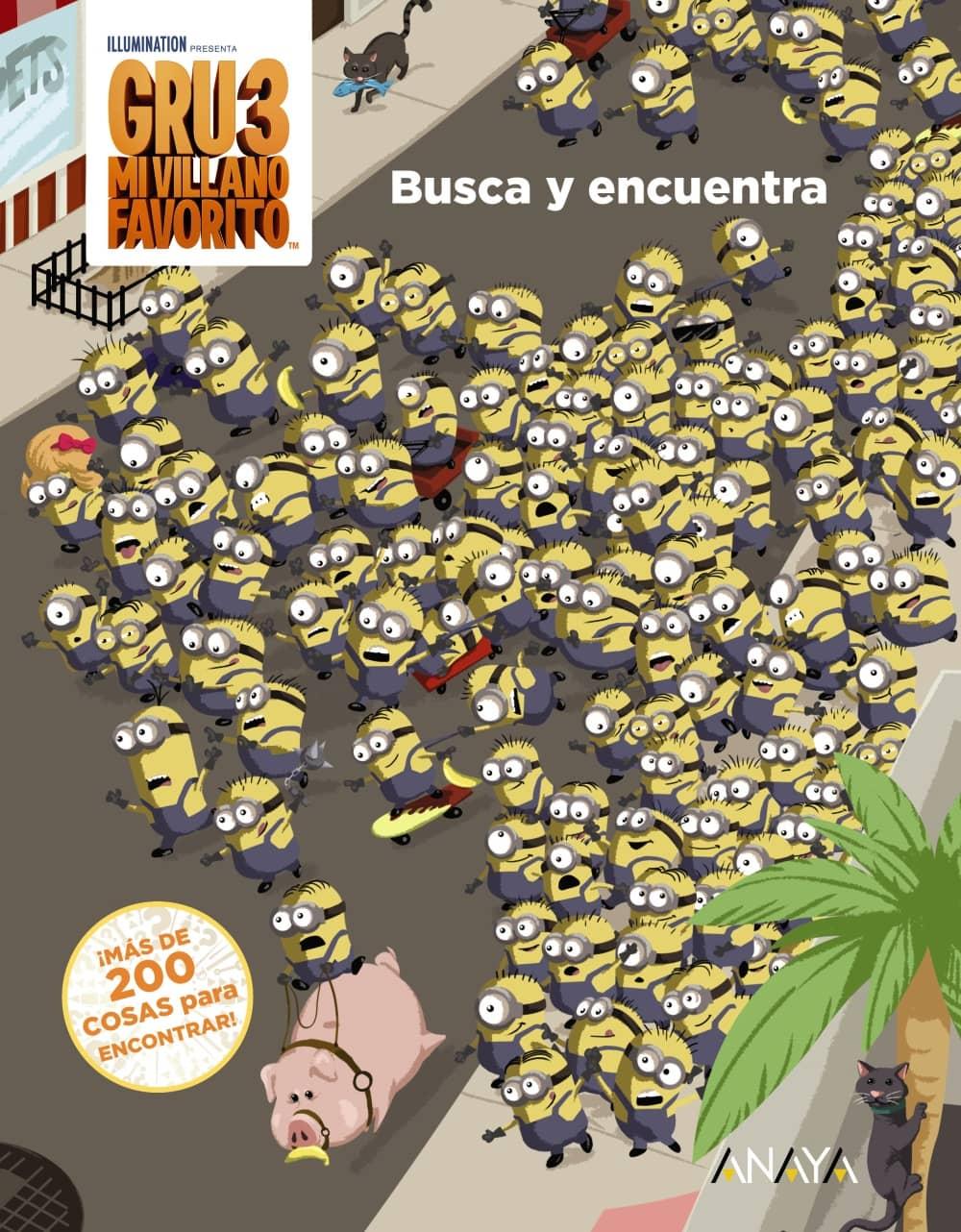 BUSCA Y ENCUENTRA  (GRU MI VILLANO FAVORITO 3)