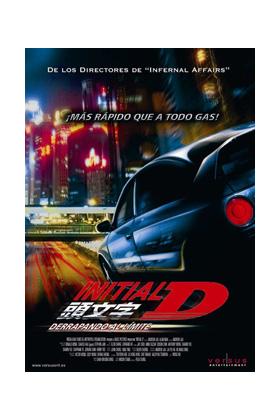 INITIAL D DERRAPANDO AL LIMITE -DVD