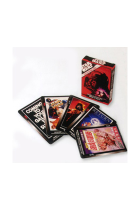 BLISTER CARTAS DE JUEGO - POSTER STAR WARS