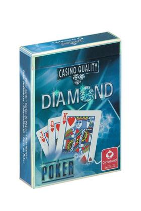 BLISTER BARAJA DE POKER DIAMOND - RESPALDO AZUL