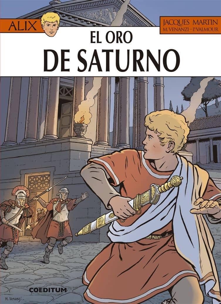 ALIX 35. EL ORO DE SATURNO