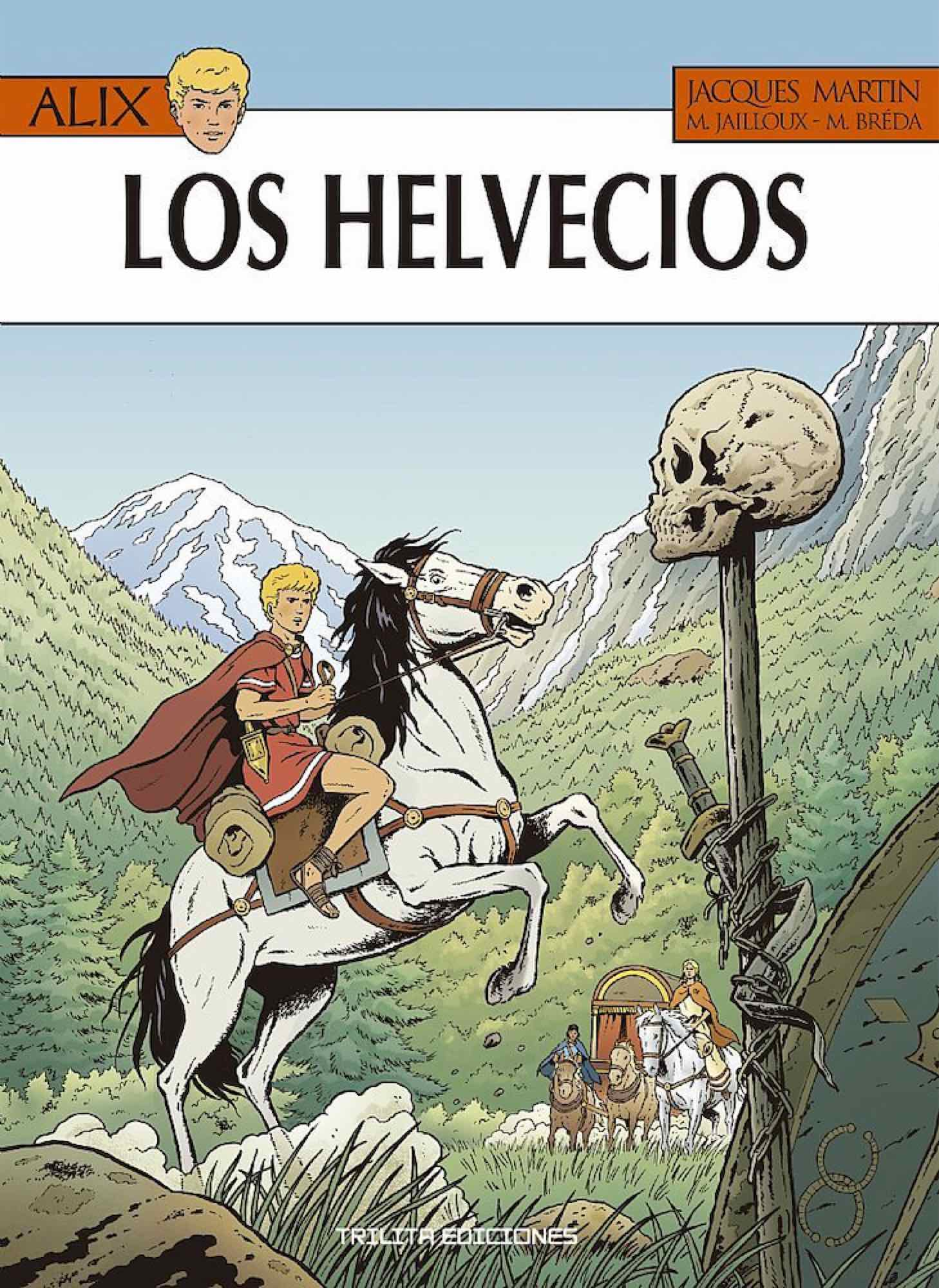 ALIX 38. LOS HELVECIOS
