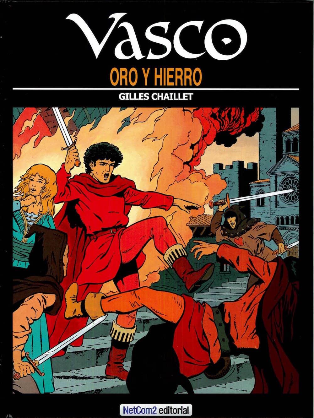 VASCO 01. ORO Y HIERRO