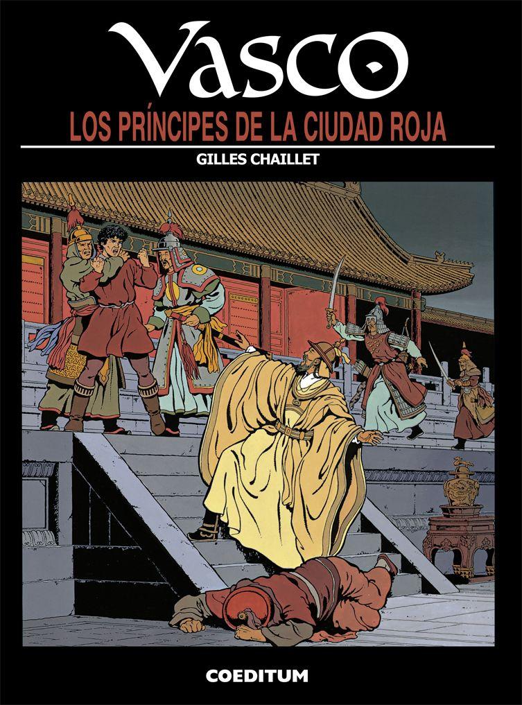 VASCO 12. LOS PRINCIPES DE LA CIUDAD ROJA