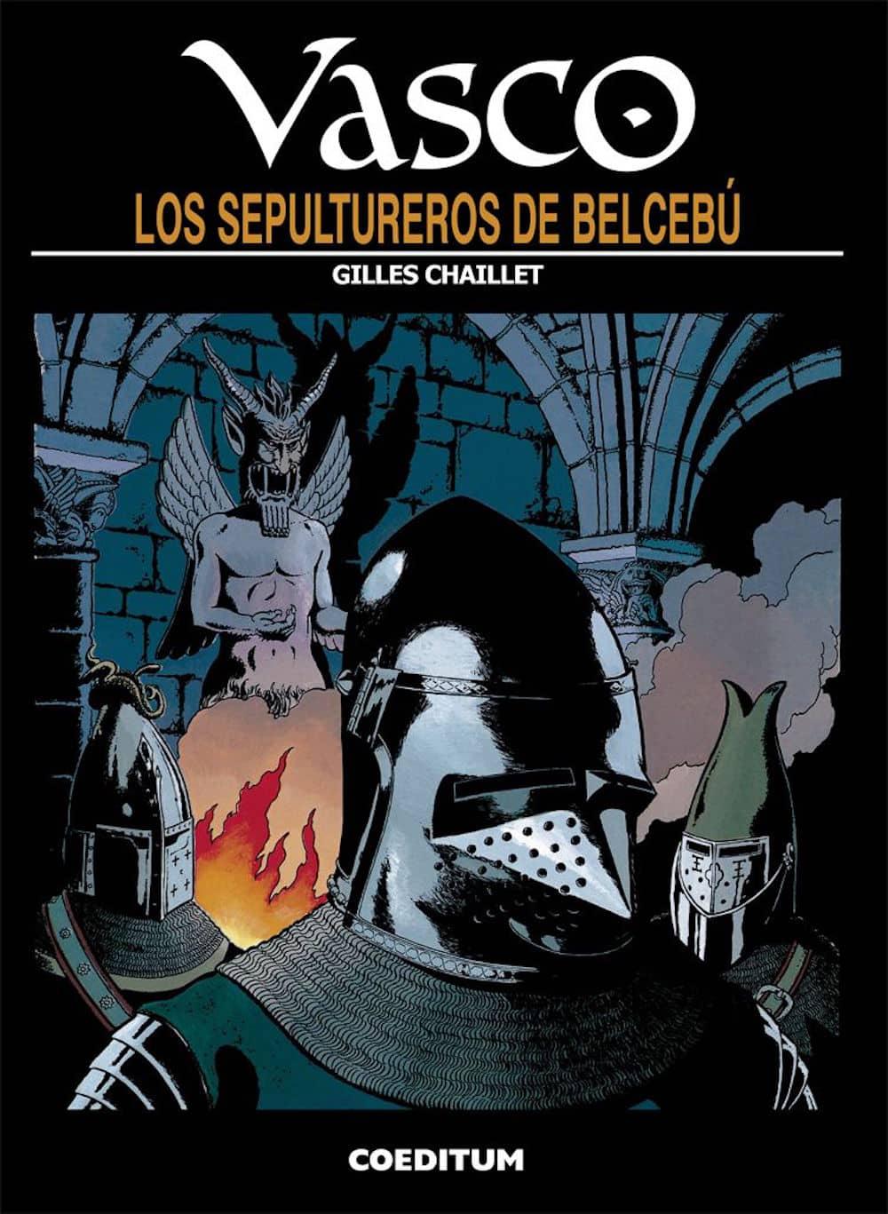 VASCO 13. LOS SEPULTUREROS DE BELCEBU