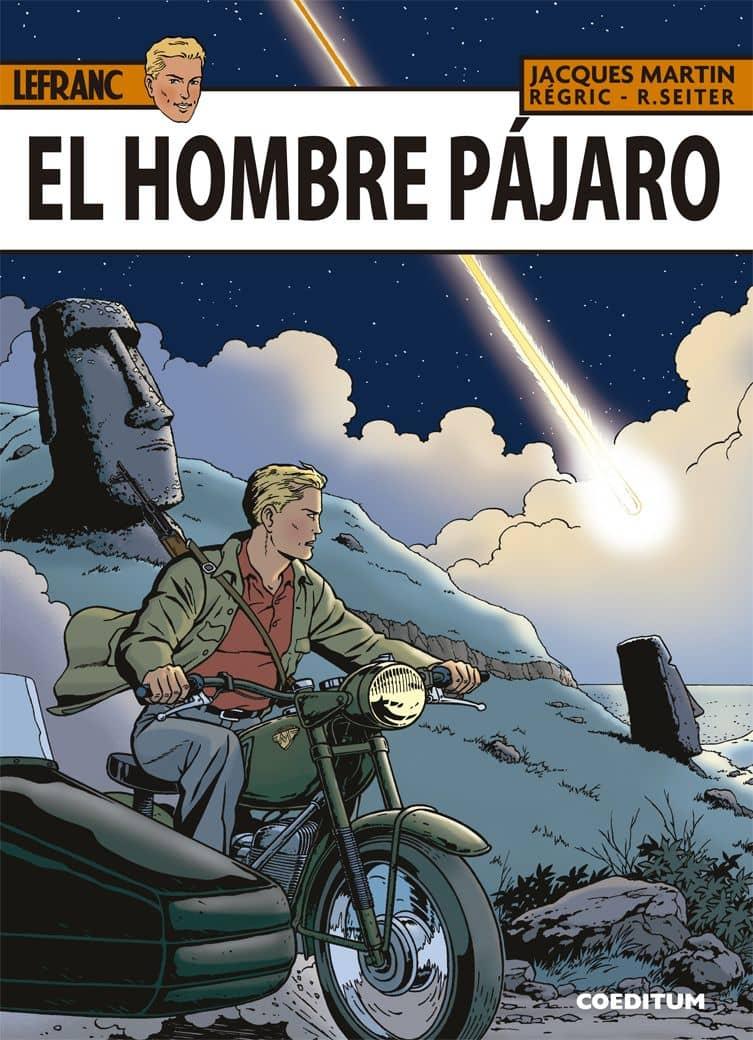 LEFRANC 27. EL HOMBRE PAJARO