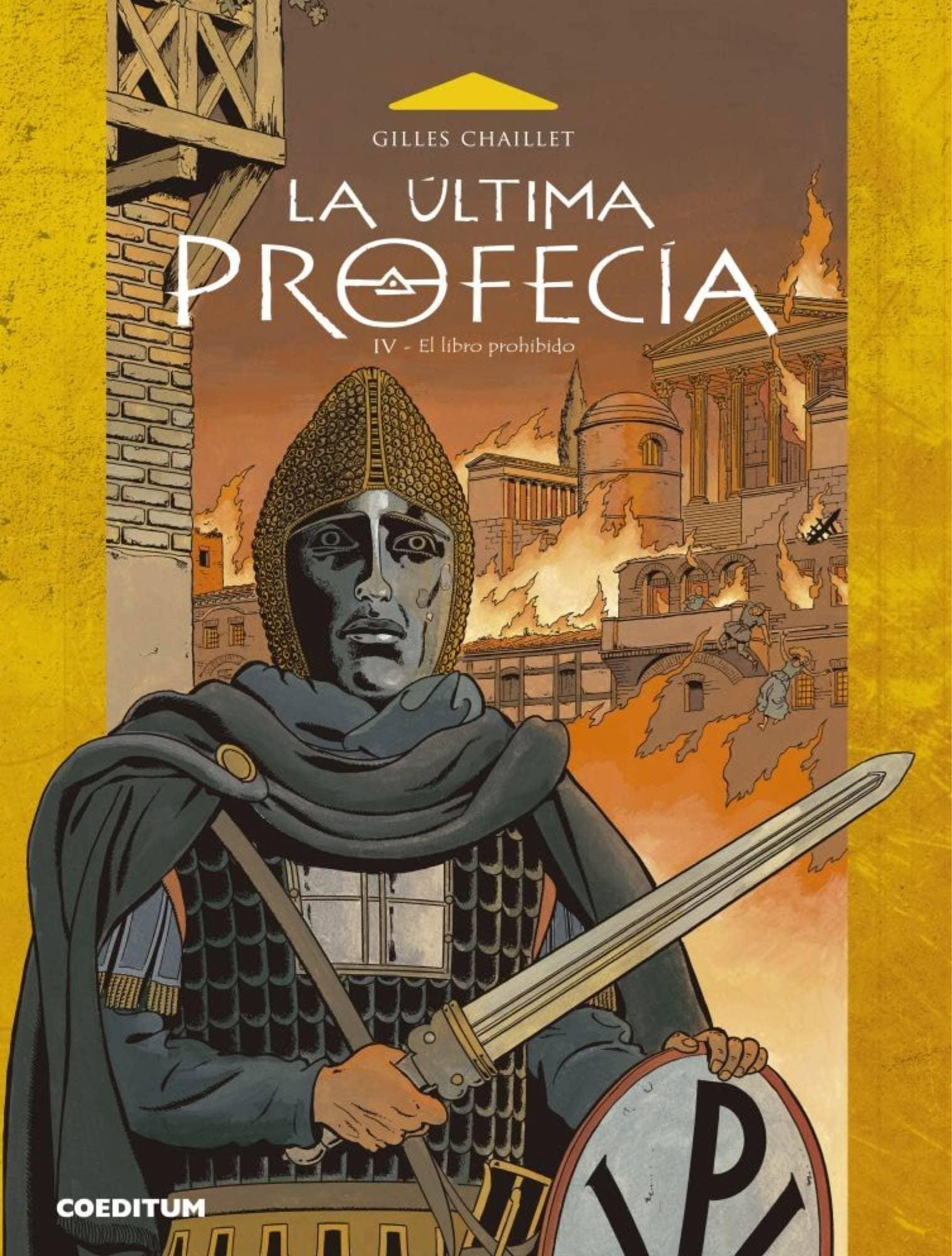 LA ULTIMA PROFECIA 04. EL LIBRO PROHIBIDO