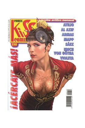 KISS COMIX 218
