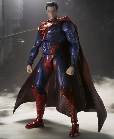 SUPERMAN INJUSTICE VERSION FIGURA 16 CM BATMAN INJUSTICE SH FIGUARTS