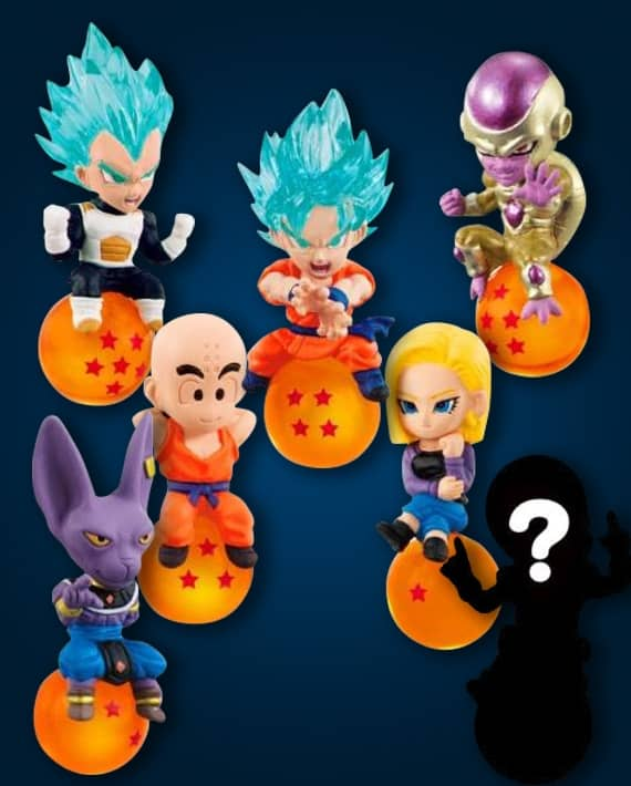 DRAGON BALL QD MASCOT VOL 2 DISPLAY 10 MINI FIGURAS 5 CM DRAGON BALL ZA