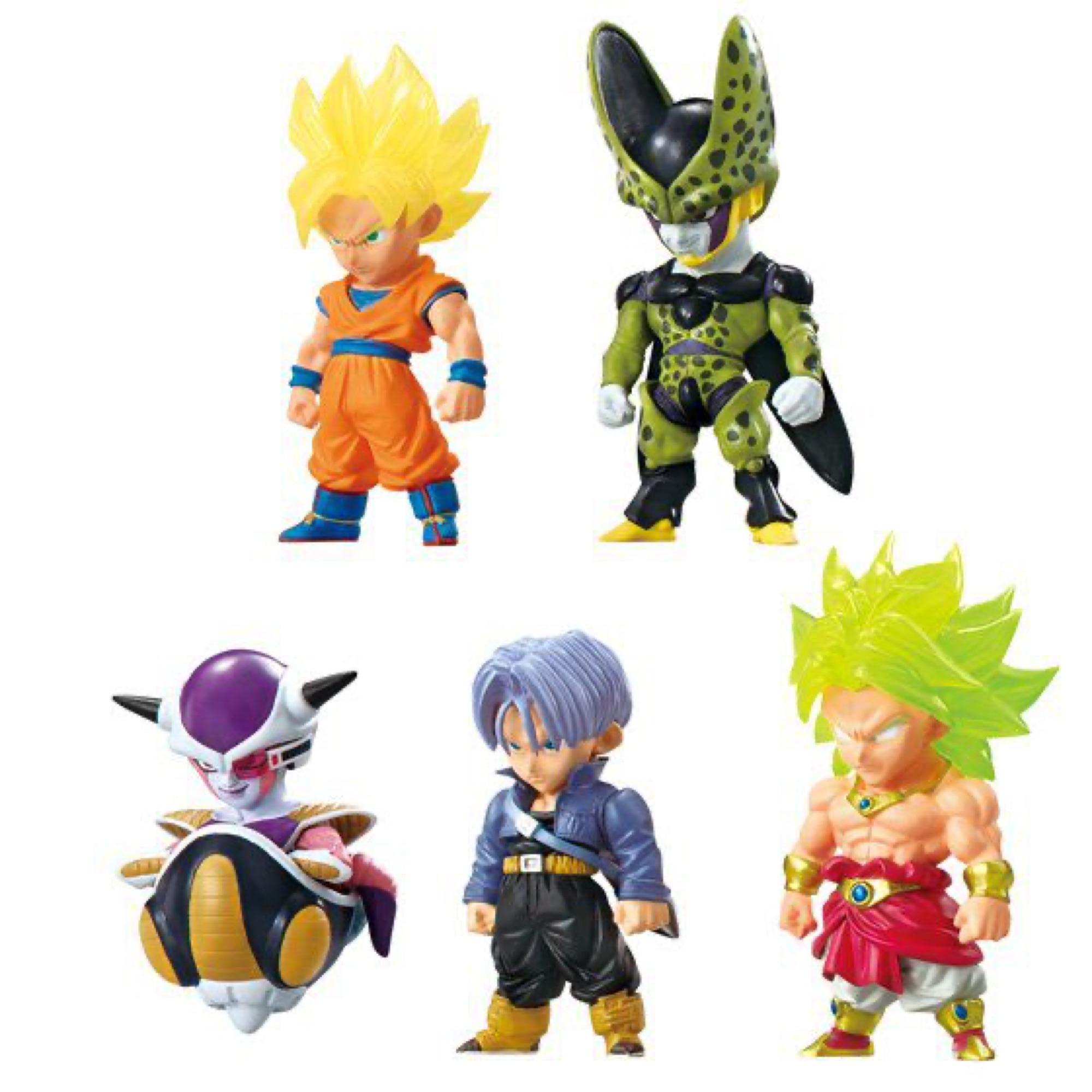 DRAGON BALL ADVERGE #1 DISPLAY 10 MINI FIGURAS 5,5 CM DRAGON BALL Z