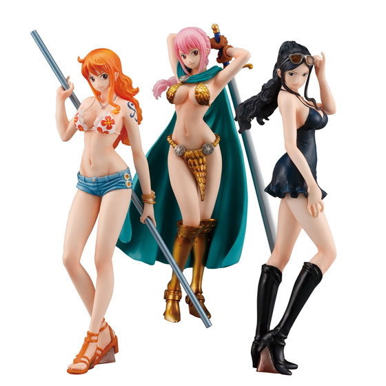 ONE PIECE STYLING GIRLS DISPLAY 8 FIGURAS 14 CM ONE PIECE