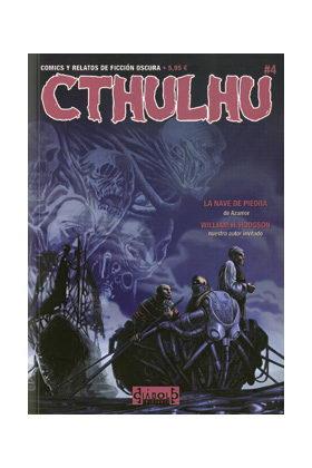 CTHULHU 04. COMICS Y RELATOS DE FICCIÓN OSCURA