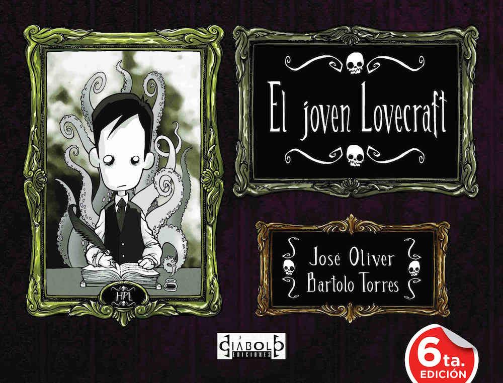 EL JOVEN LOVECRAFT 01 (CARTONÉ)