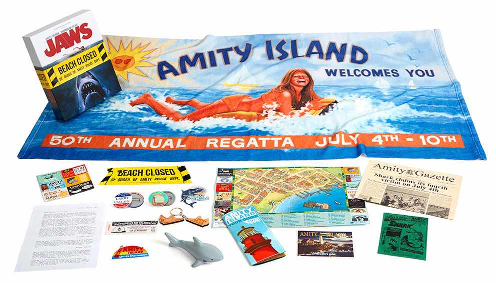JAWS AMITY ISLAND SUMMER OF 75 CAJA WELCOME KIT (INGLES)