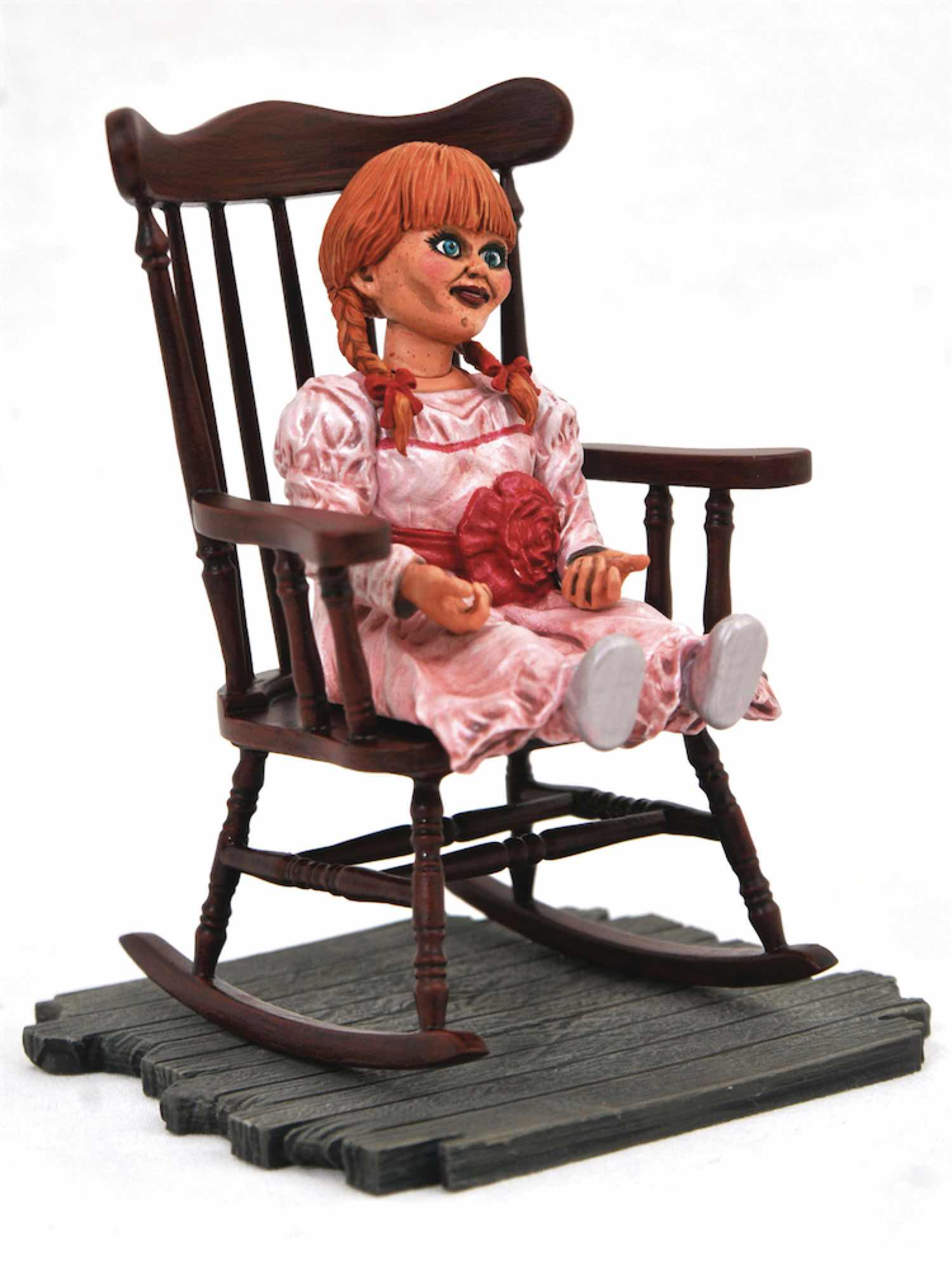ANNABELLE PVC DIORAMA ESTATUA 23 CM HORROR MOVIE GALLERY ANNABELLE