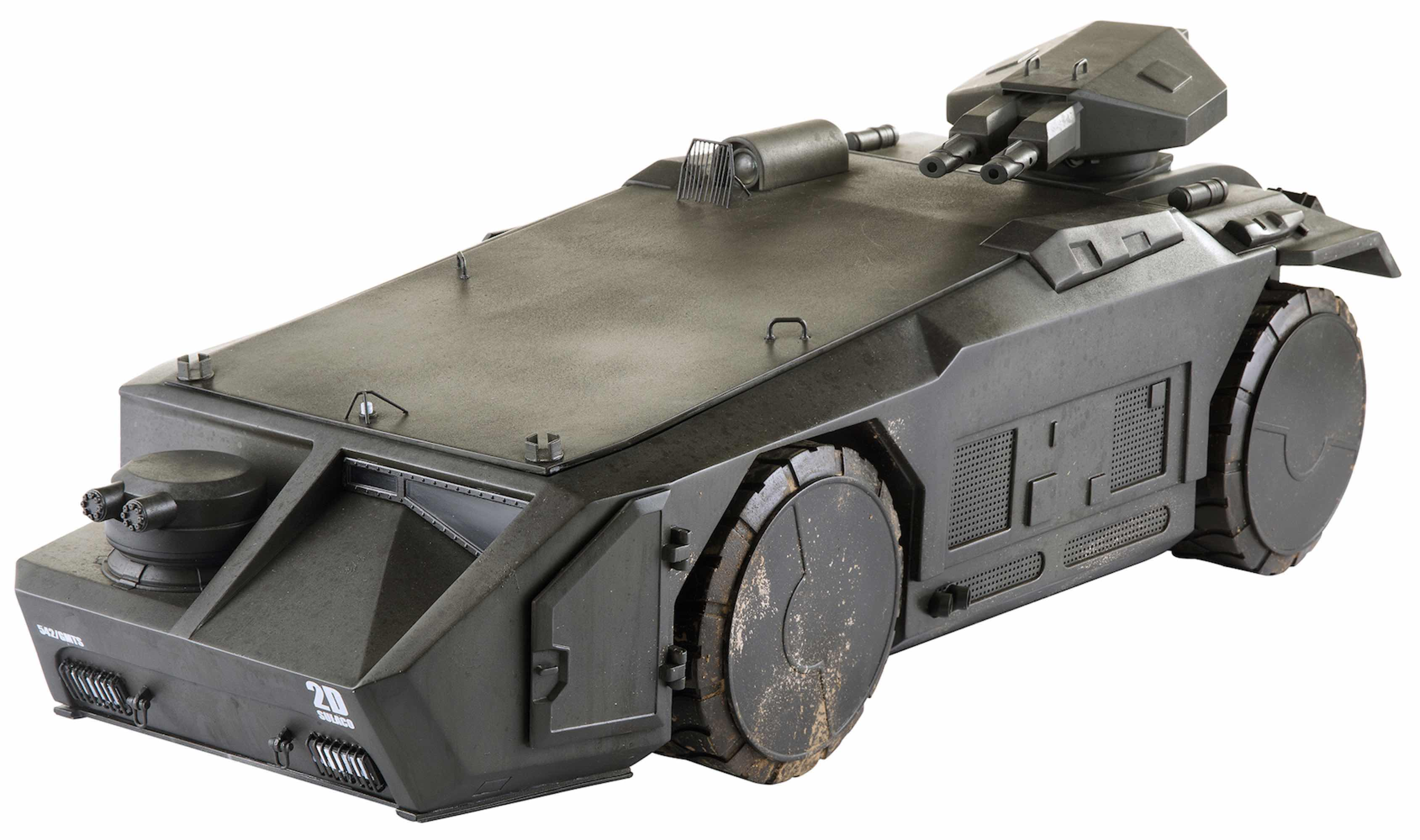 ARMORED PERSONNEL CARRIER FIGURA 1/18 SCALE PREVIEWS EXCLUSIVE ALIENS COLONIAL MARINES