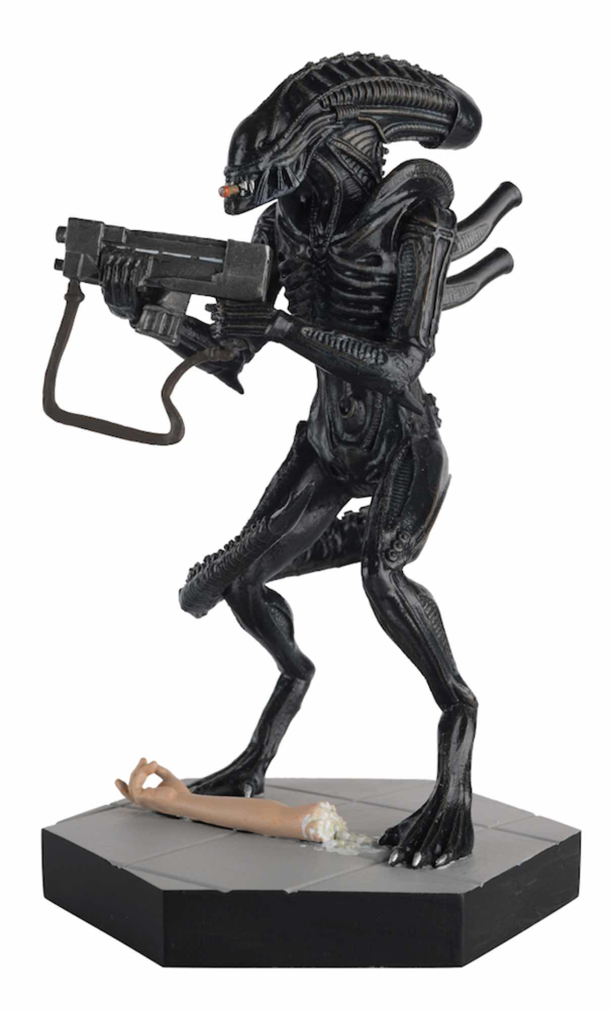 JERI THE SYNTHETIC FIG 12 CM ALIEN & PREDATOR FIGURINE COLLECTION #45 ALIENS STRONGHOLD