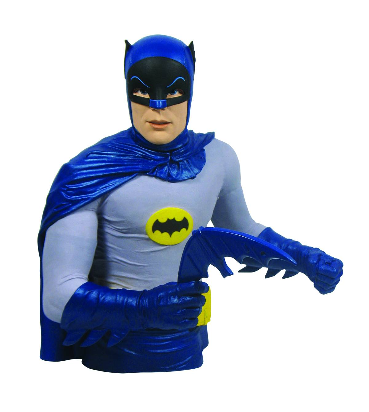 BATMAN 1966 HUCHA BUSTO ARTICULADO BATMAN 20 CM THE BATMAN CLASSIC TV SERIES