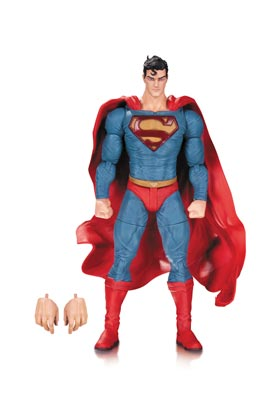 SUPERMAN LEE BERMEJO FIGURA 17 CM UNIVERSO DC COMICS DESIGNER SERIES