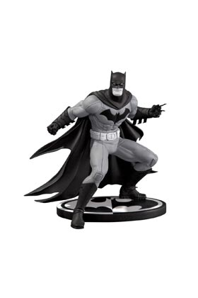 BATMAN B&W BY GREG CAPULLO 2ND EDITION ESTATUA 15 CM BATMAN BLACK AND WHITE
