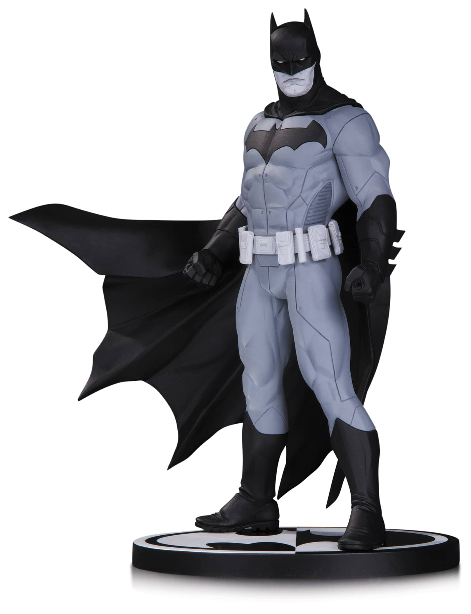 BATMAN B&W BLACK AND WHITE BY JASON FABOK ESTATUA 18 CM BATMAN UNIVERSO DC