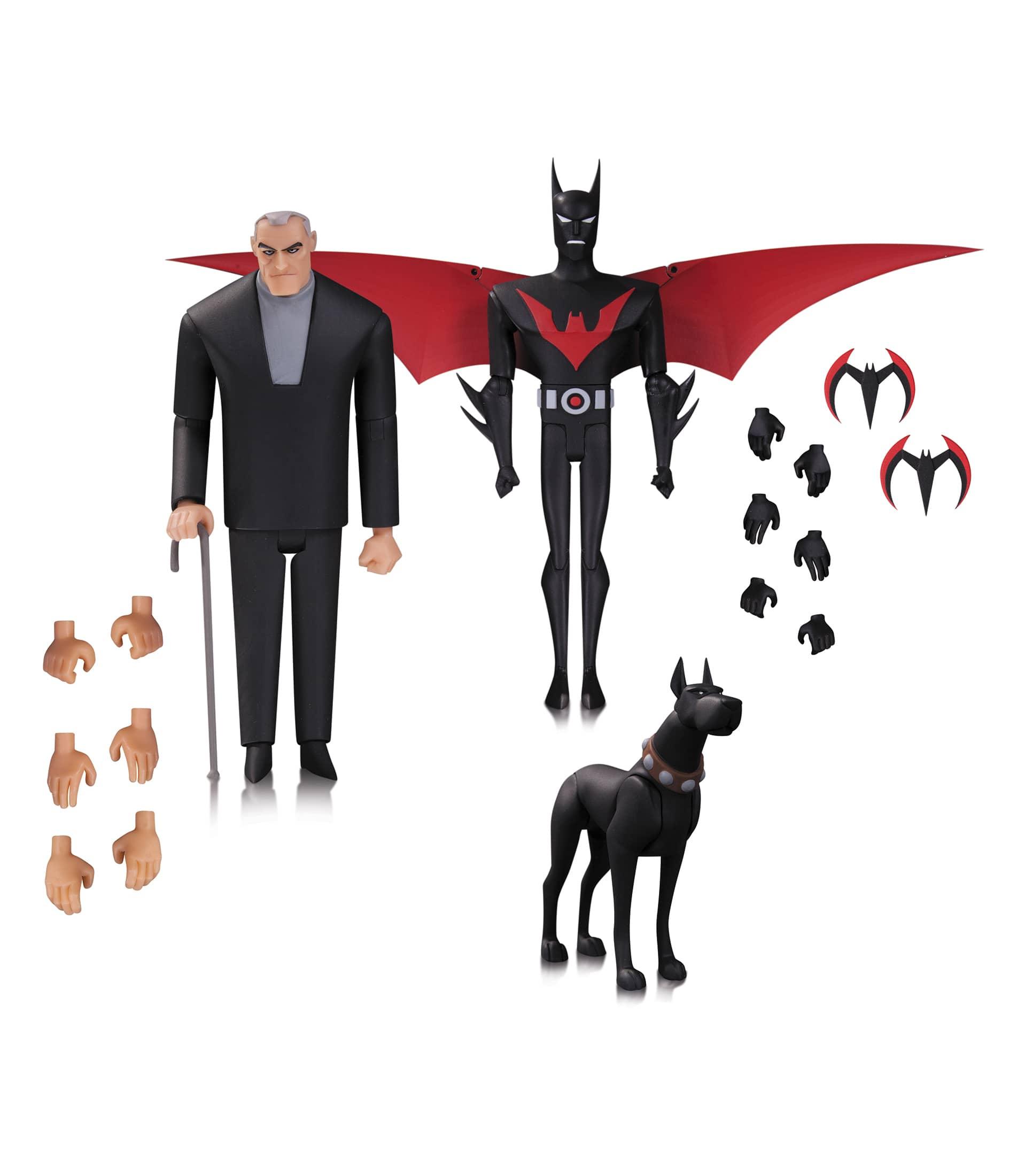TERRY MCGINNIS, BRUCE WAYNE Y ACE FIGURAS BATMAN THE ANIMATED SERIES BATMAN BEYOND 3 PACK