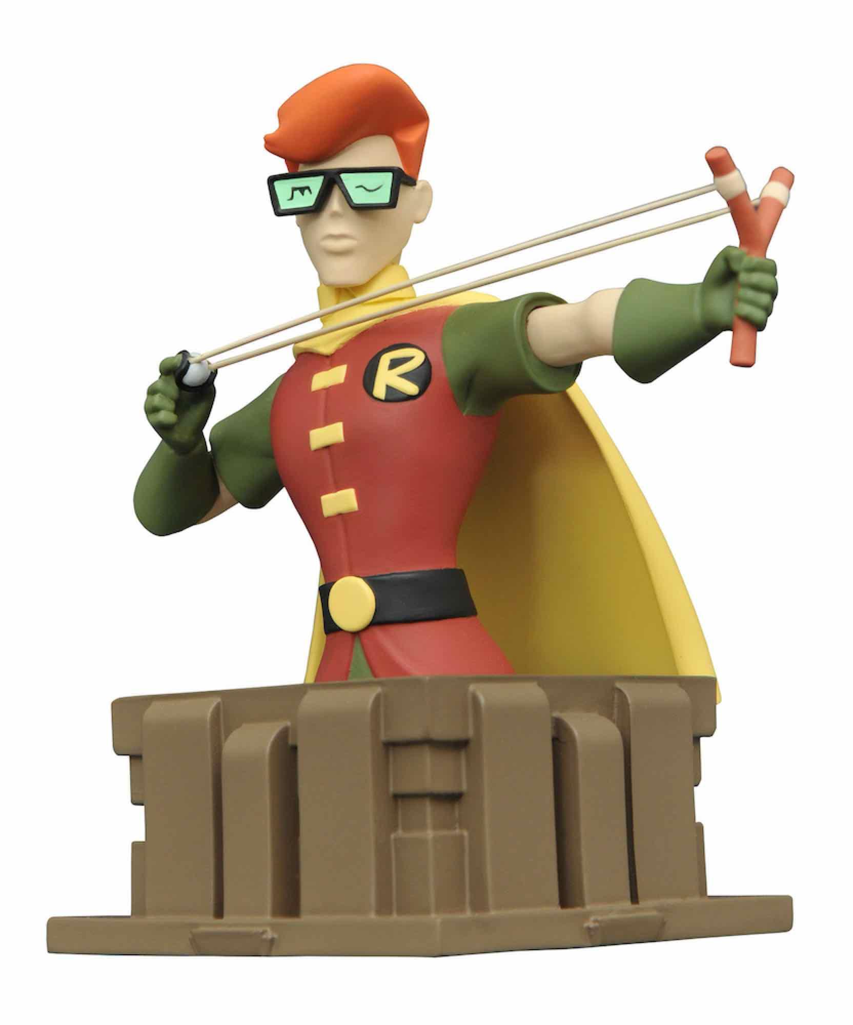 ROBIN DARK KNIGHT BUSTO BATMAN THE ANIMATED SERIES UNIVERSO DC