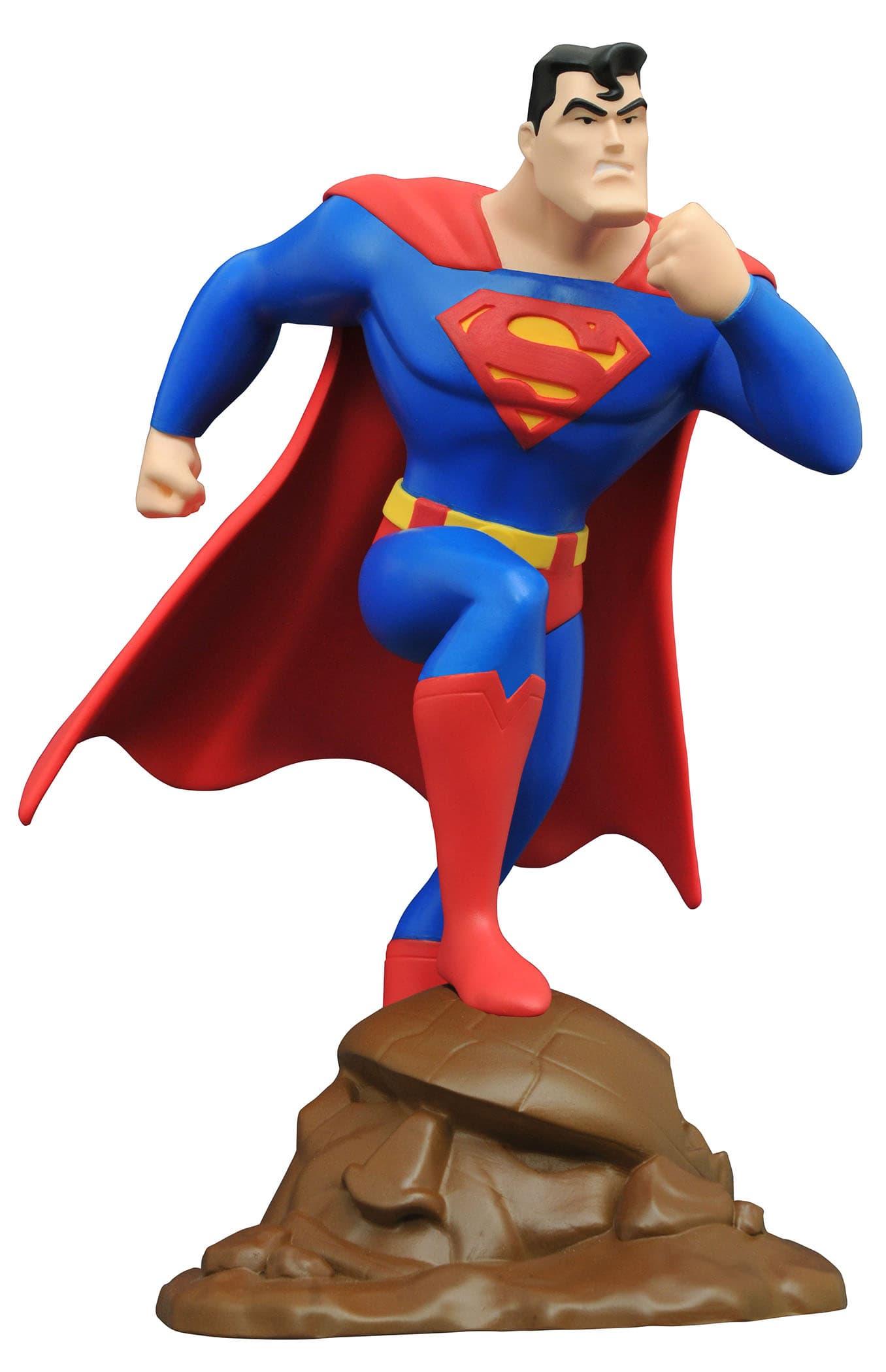 SUPERMAN FIGURA 22 CM SUPERMAN THE ANIMATED SERIES GALLERY UNIVERSO DC
