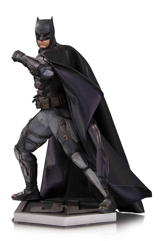 BATMAN TRAJE TACTICO ESTATUA 32 CM JUSTICE LEAGUE MOVIE UNIVERSO DC