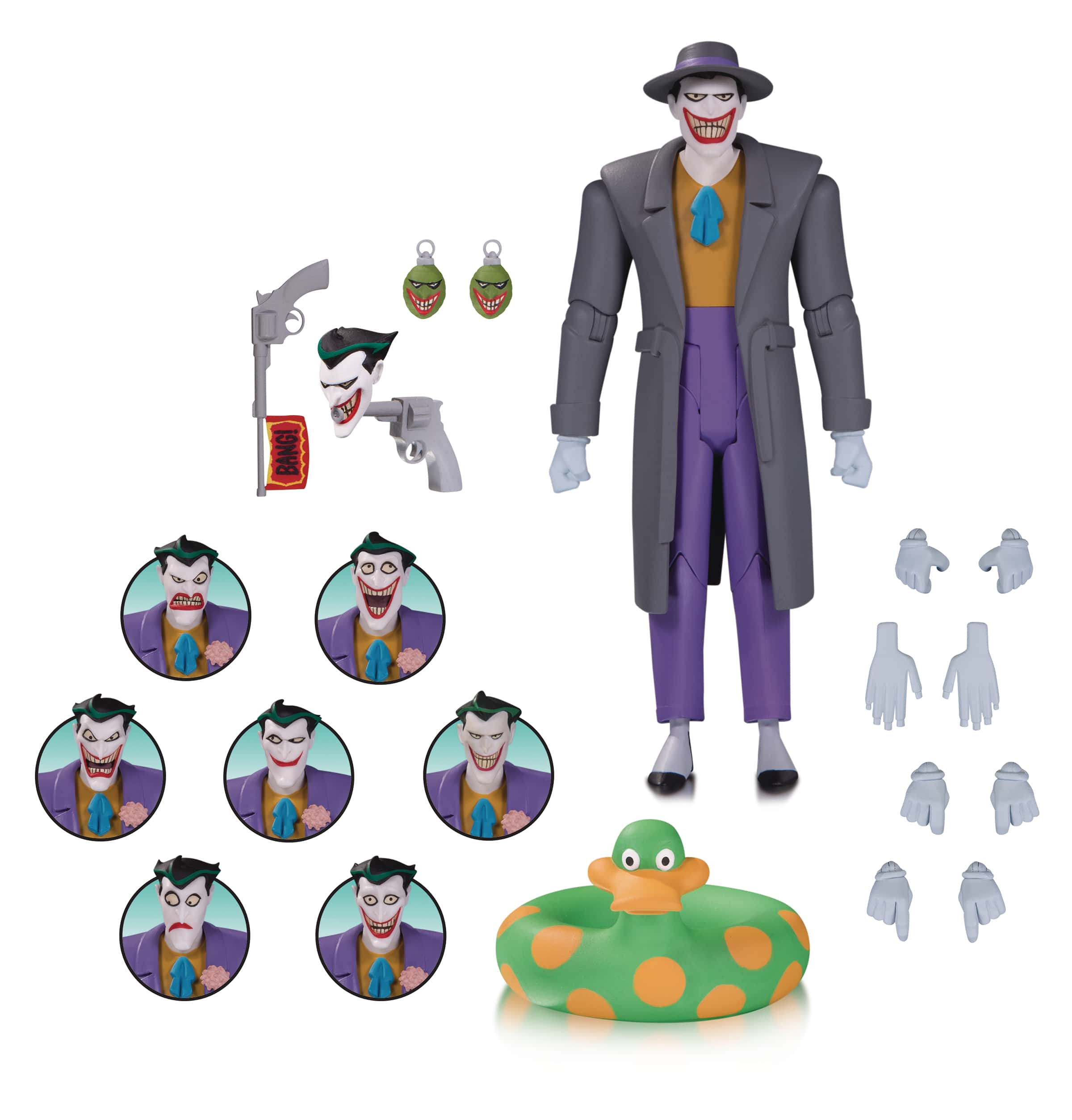 JOKER EXPRESSIONS PACK FIGURA 15,74 CM THE ANIMATED SERIES UNIVERSO DC