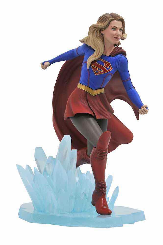 SUPERGIRL CW TV DIORAMA ESTATUA 22.8 CM UNIVERSO DC GALLERY SUPERGIRL TV SHOW