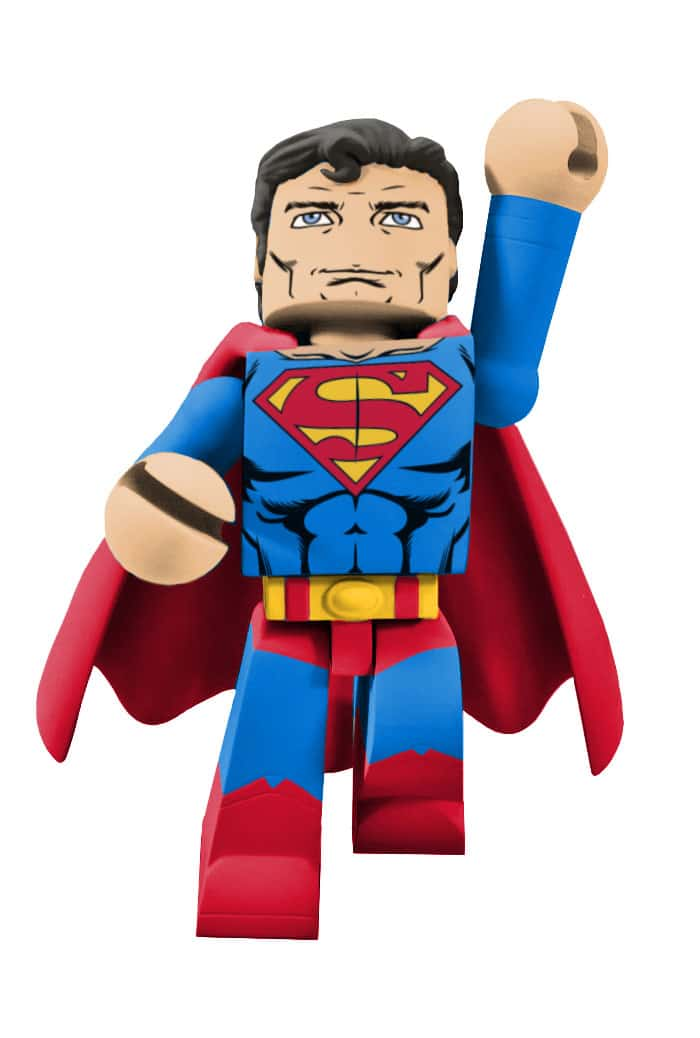 SUPERMAN FIGURA 10 CM UNIVERSO DC VINIMATES VINYL SERIE 2