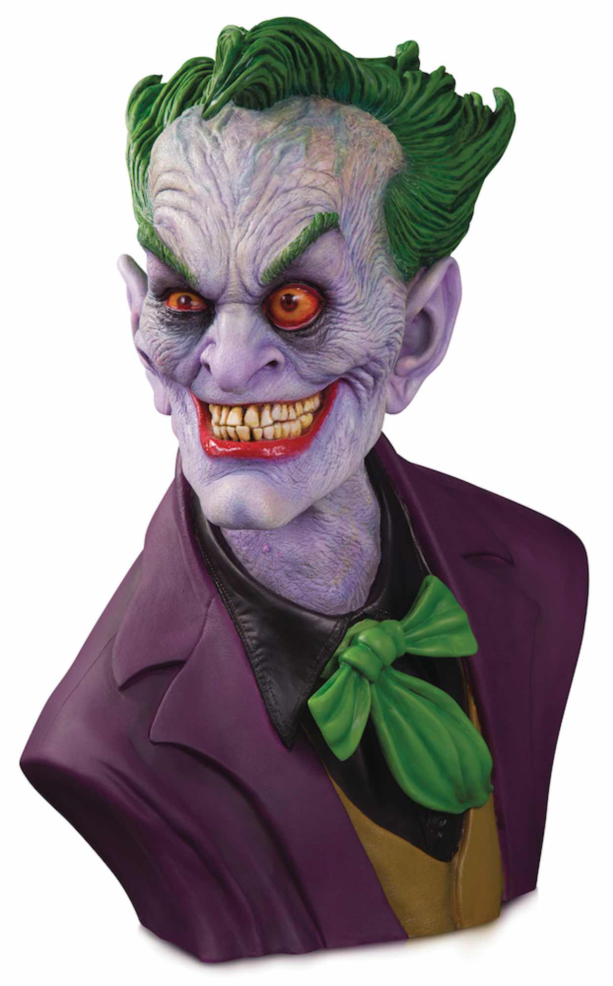 THE JOKER EDICION ULTIMATE BY RICK BAKER BUSTO 1:1 57 CM UNIVERSO DC GALLERY