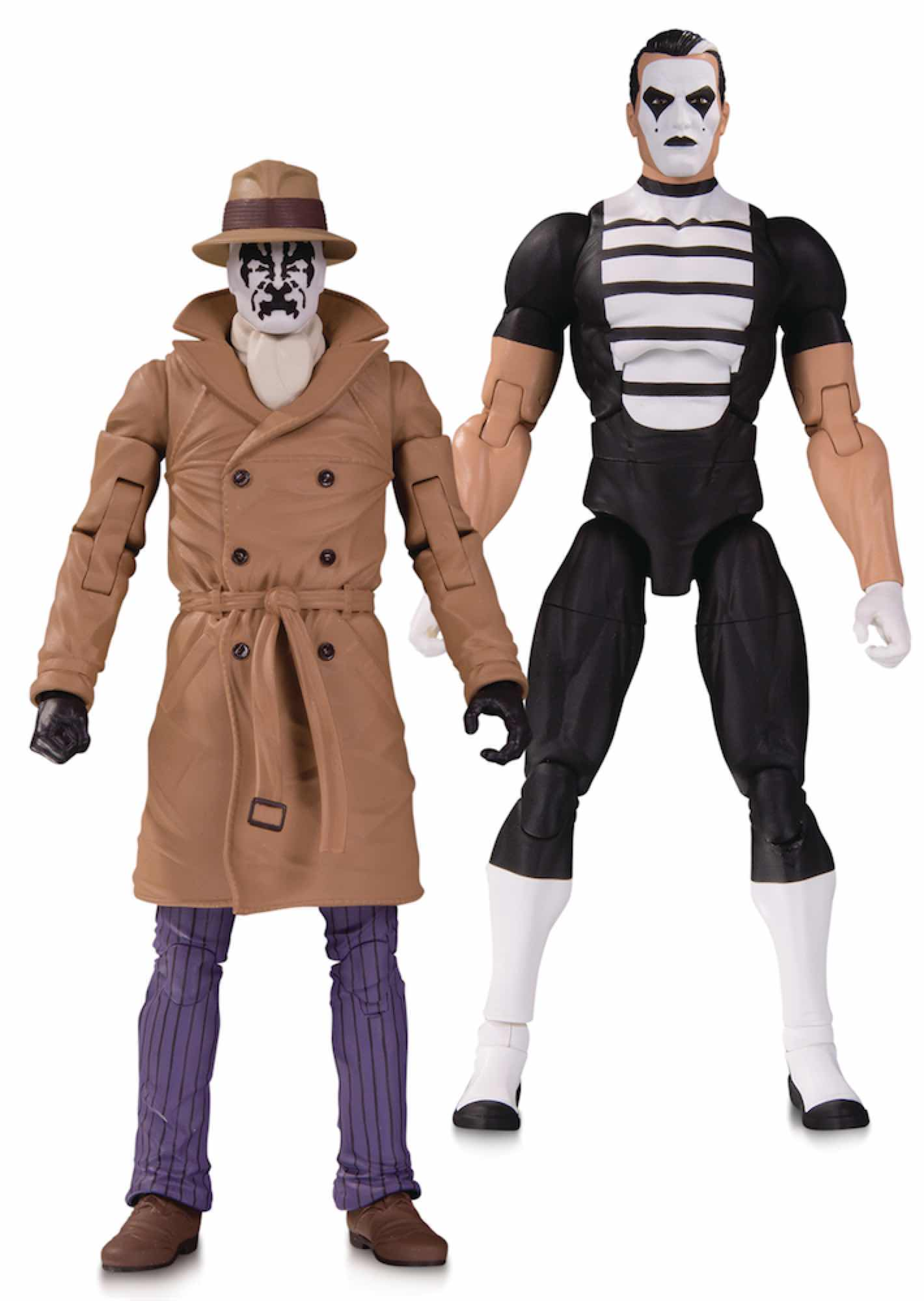 RORSCHACH & MIMO PACK 2 ESTATUAS 18 CM DC DOOMSDAY CLOCK ACTION FIGURE