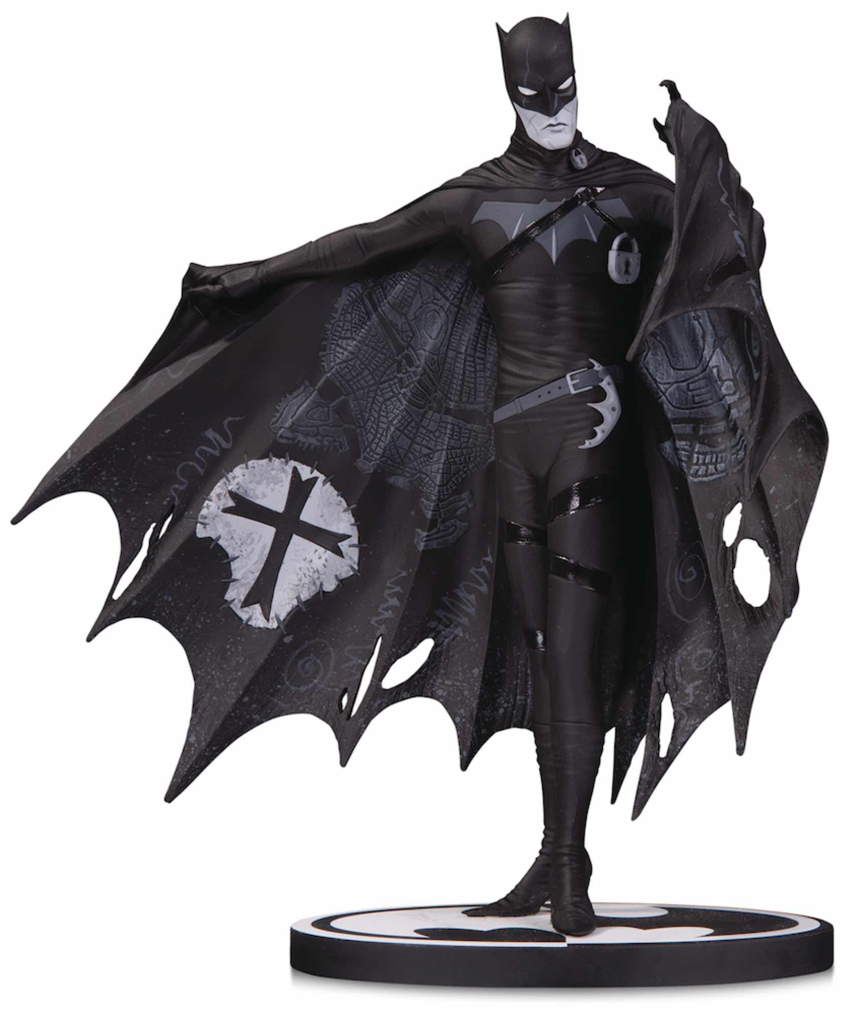 BATMAN B&W BLACK AND WHITE BY GERARD WAY ESTATUA 19.5 CM BATMAN UNIVERSO DC