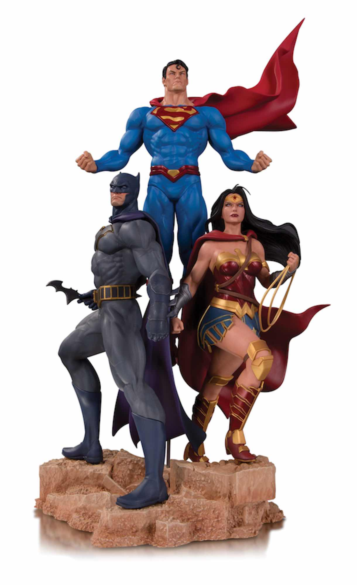 TRINITY BY JASON FABOK ESTATUA 49 CM DC DESIGNER SERIES