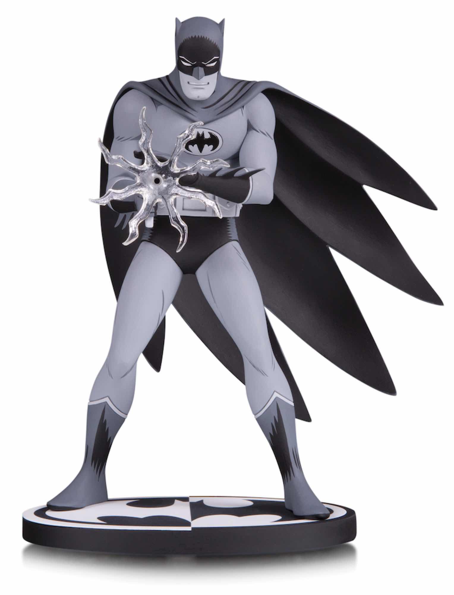 BATMAN B&W BLACK AND WHITE BY JIRO KUWATA ESTATUA 16 CM BATMAN UNIVERSO DC