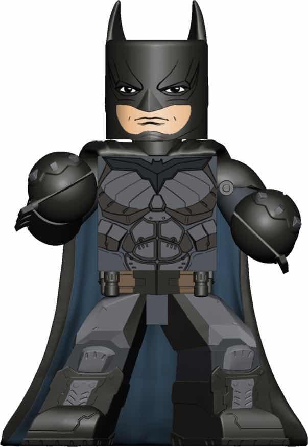 BATMAN INJUSTICE FIGURA 10 CM VINIMATES VINYL FIGURE DC COMICS