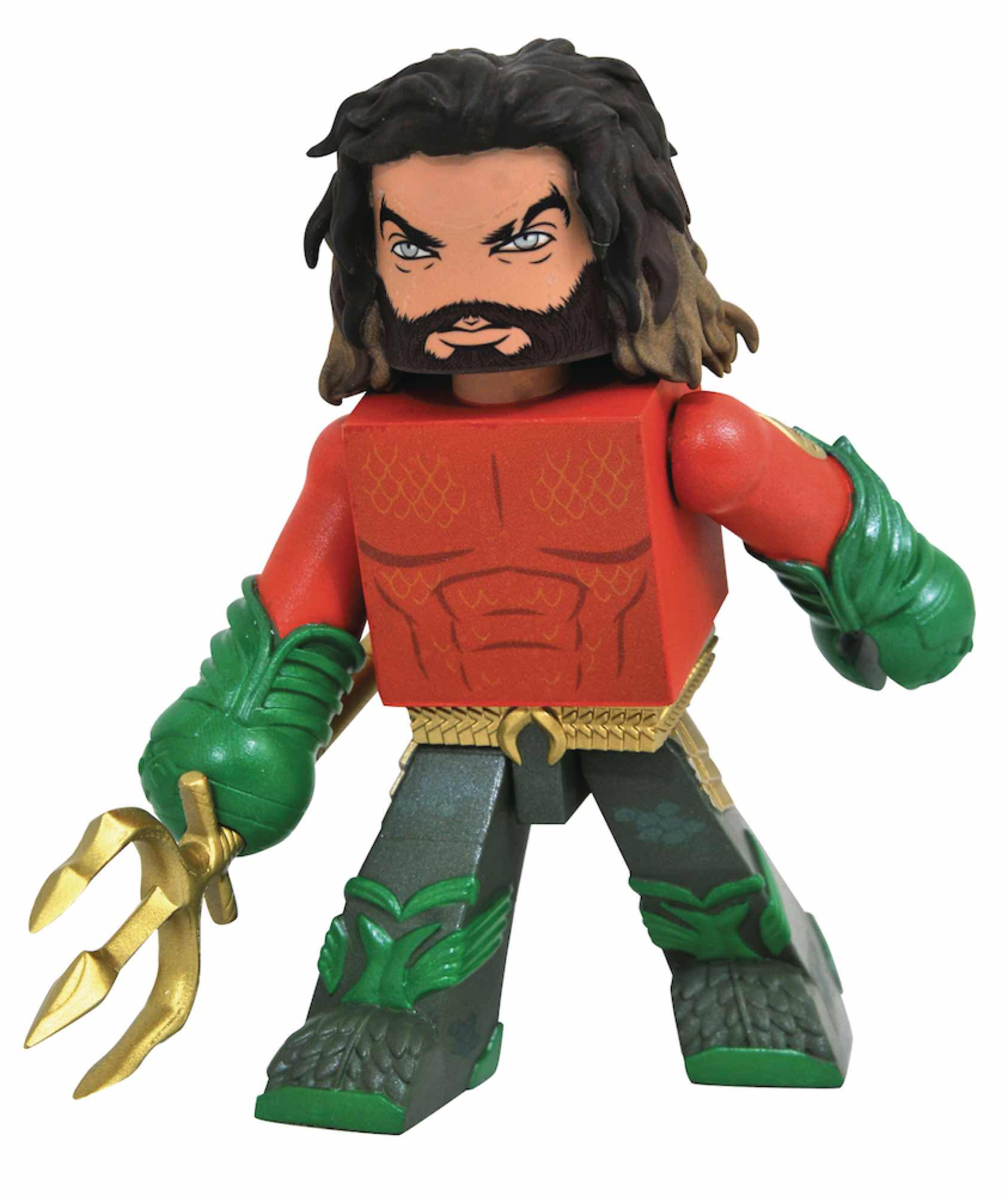 AQUAMAN FIGURA 10 CM DC MOVIE VINIMATES AQUAMAN