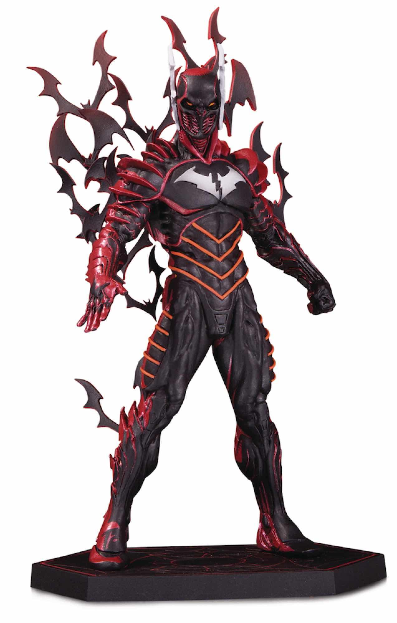 THE RED DEATH ESTATUA 21 CM DARK NIGHTS: METAL BATMAN UNIVERSO DC