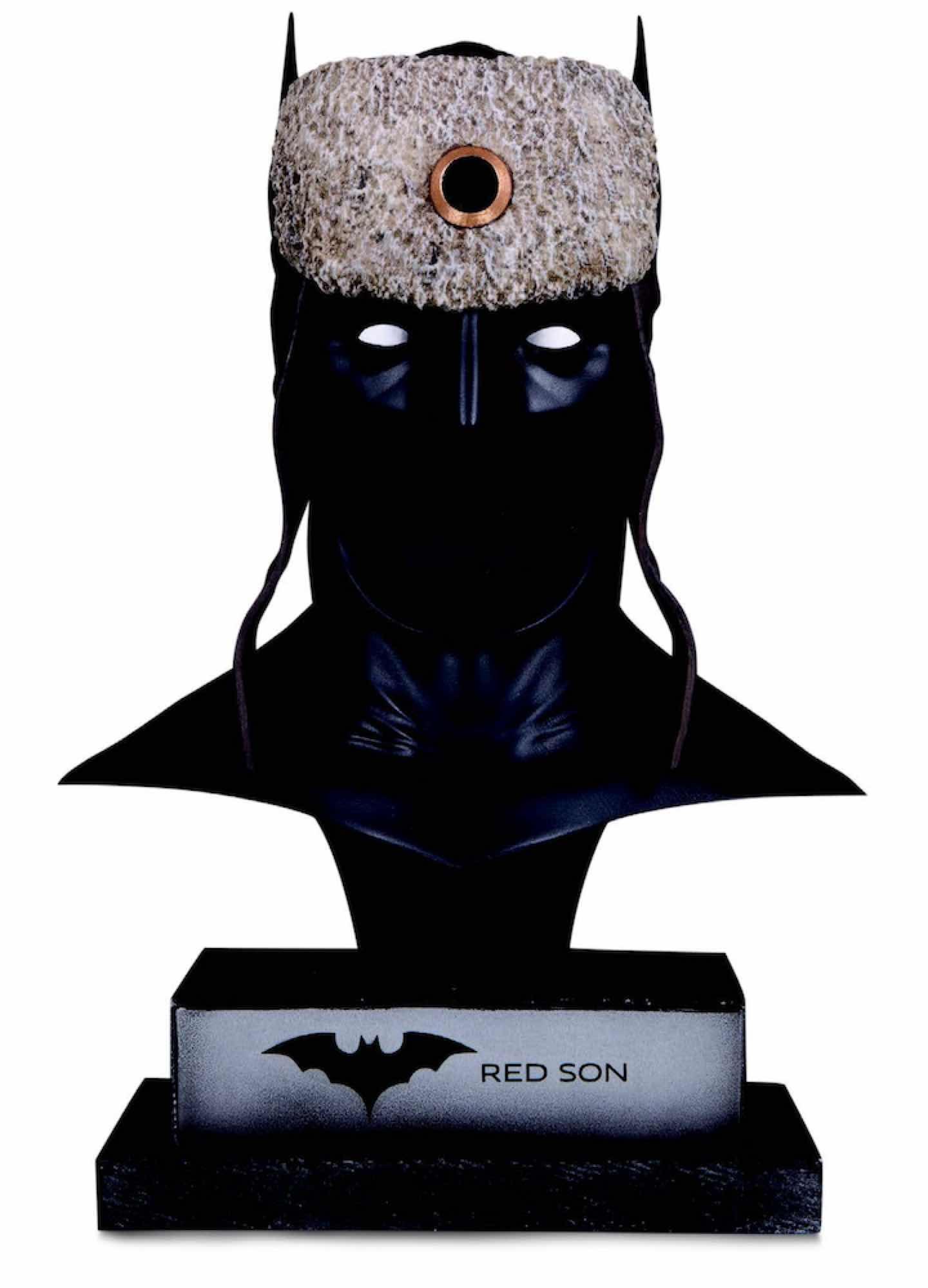 CAPUCHA BATMAN PROP REPLICA 23 CM SUPERMAN RED SON DC GALLERY