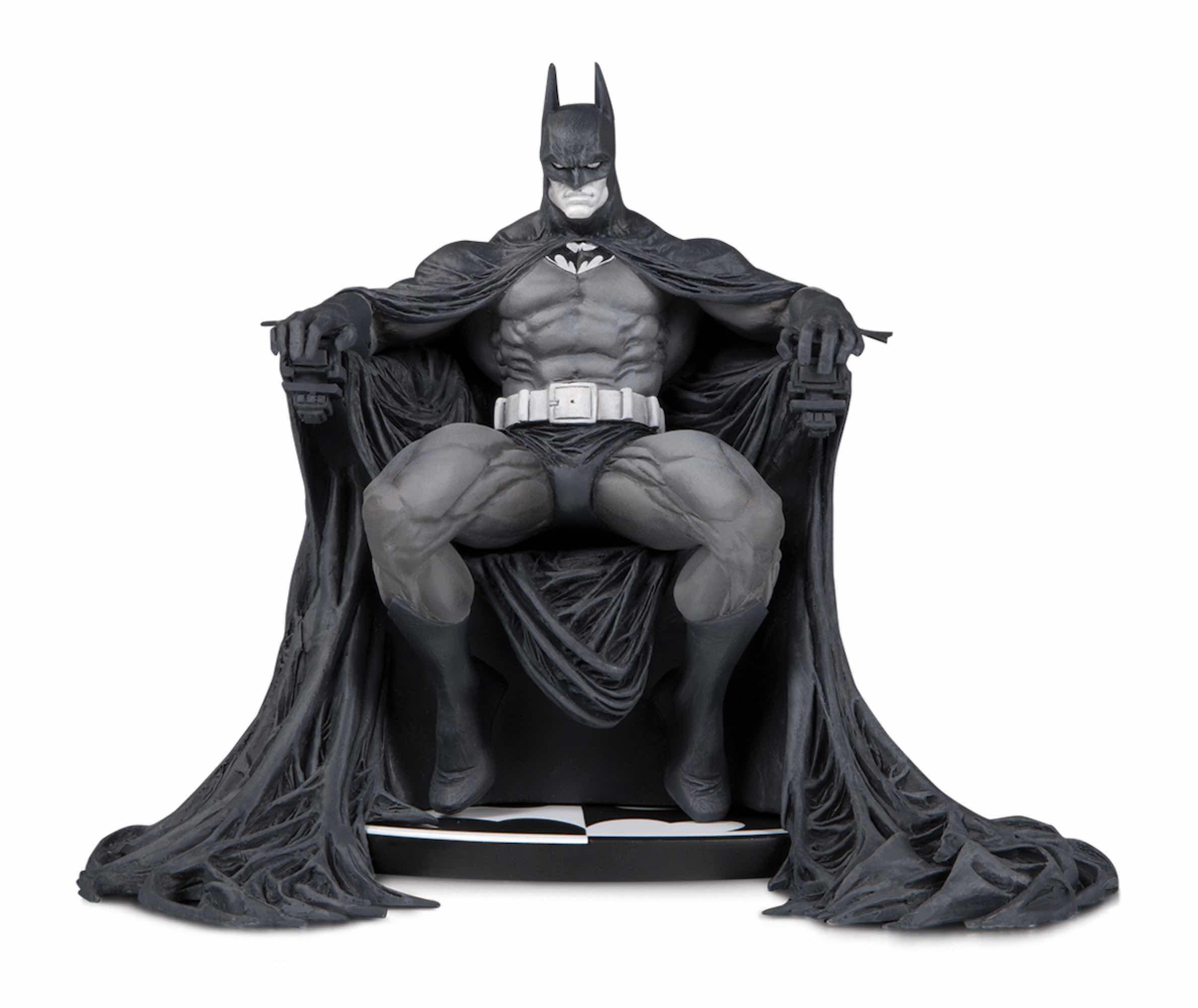 BATMAN B&W BLACK AND WHITE BY MARC SILVESTRI ESTATUA 15 CM BATMAN UNIVERSO DC