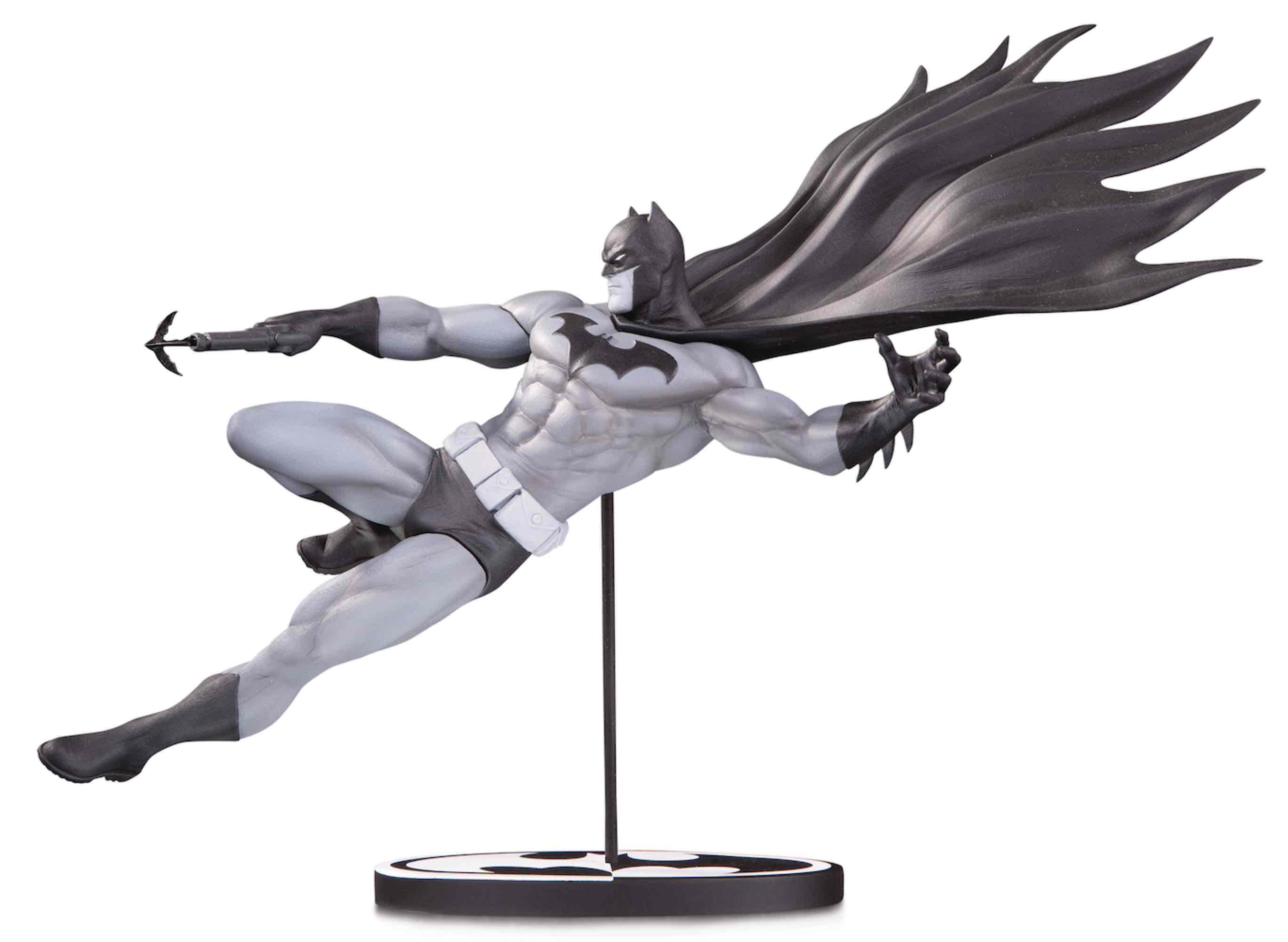 BATMAN B&W BLACK AND WHITE BY DOUG MAHNKE ESTATUA 18.5 CM BATMAN UNIVERSO DC