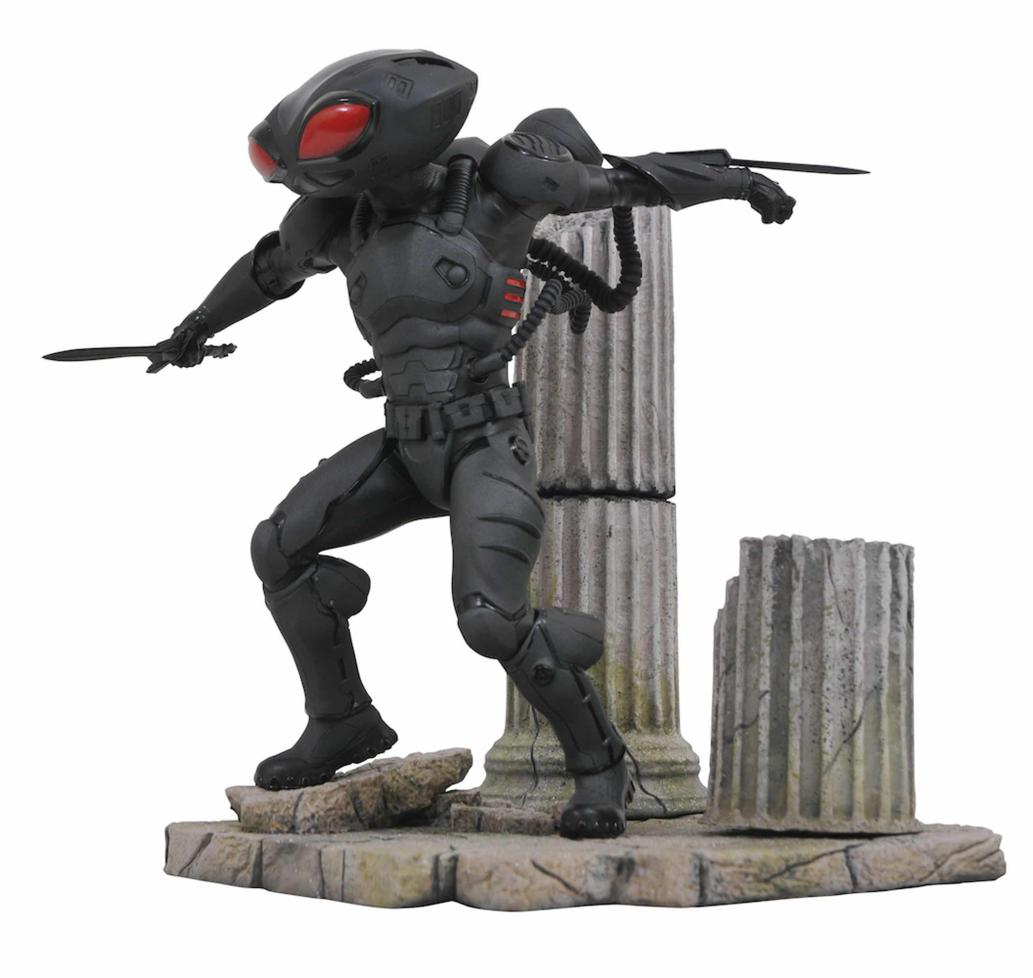 BLACK MANTA PVC DIORAMA ESTATUA 23 CM DC COMIC GALLERY AQUAMAN MOVIE