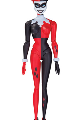 HARLEY QUINN FIGURA 13 CM THE ANIMATED SERIES ACTION FIGURE UNIVERSO DC
