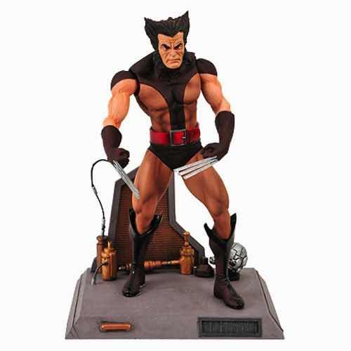 LOBEZNO DESENMASCARADO FIGURA 18 CM X-MEN MARVEL SELECT